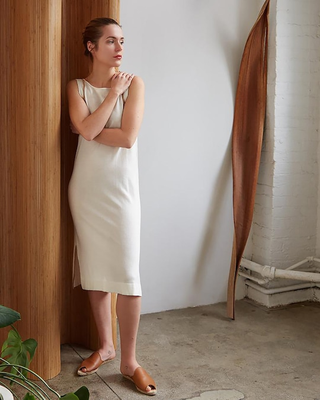 Oyun Low Back Slip Dress 1
