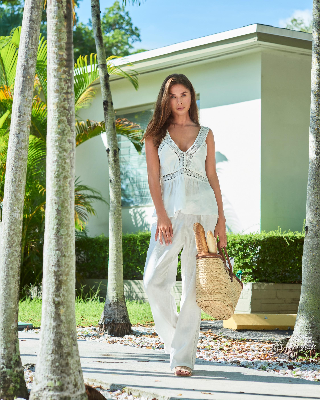 Gaby Linen Pajama Set