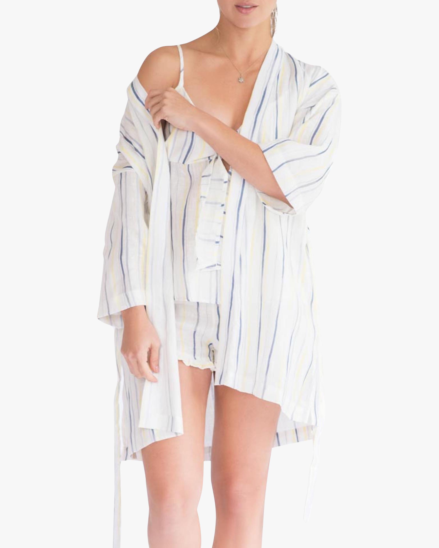 The Lazy Poet Lola Linen Robe 2