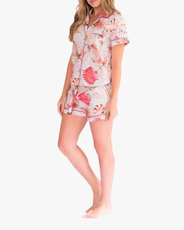 Nina Short-Sleeve Pajama Set