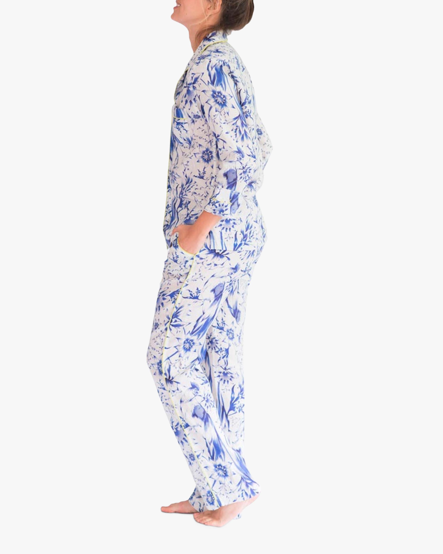 The Lazy Poet Emma Linen Pajama Set 2