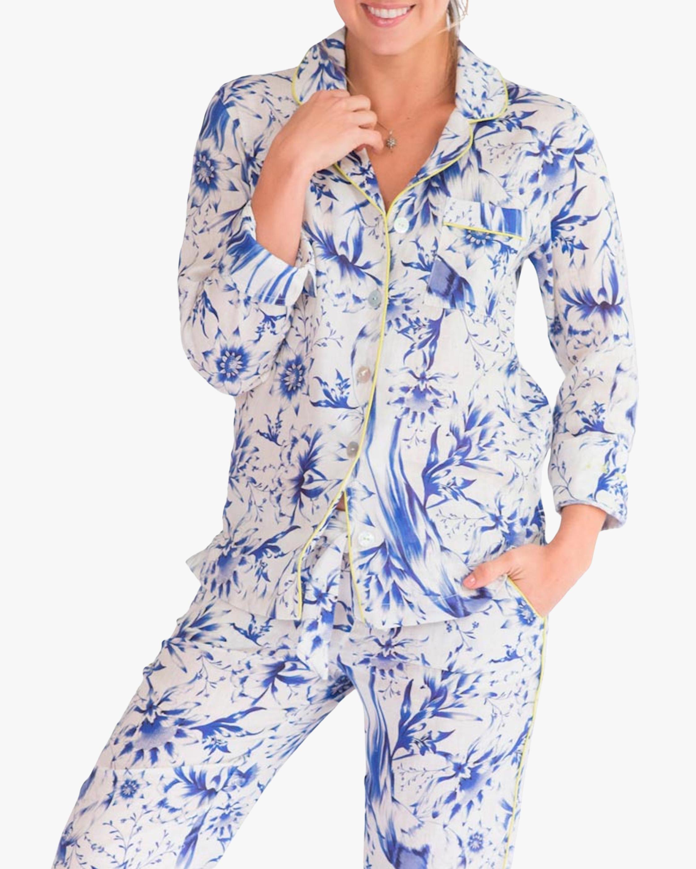 The Lazy Poet Emma Linen Pajama Set 4