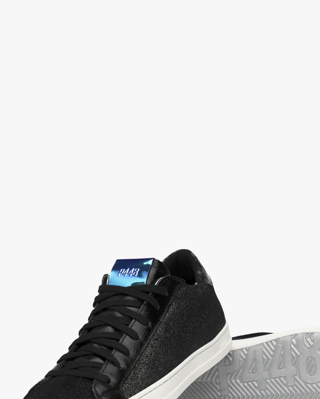 P448 John Black Glitter Sneaker 5