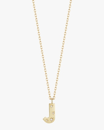 Jemma Wynne Letter Pendant Necklace 1