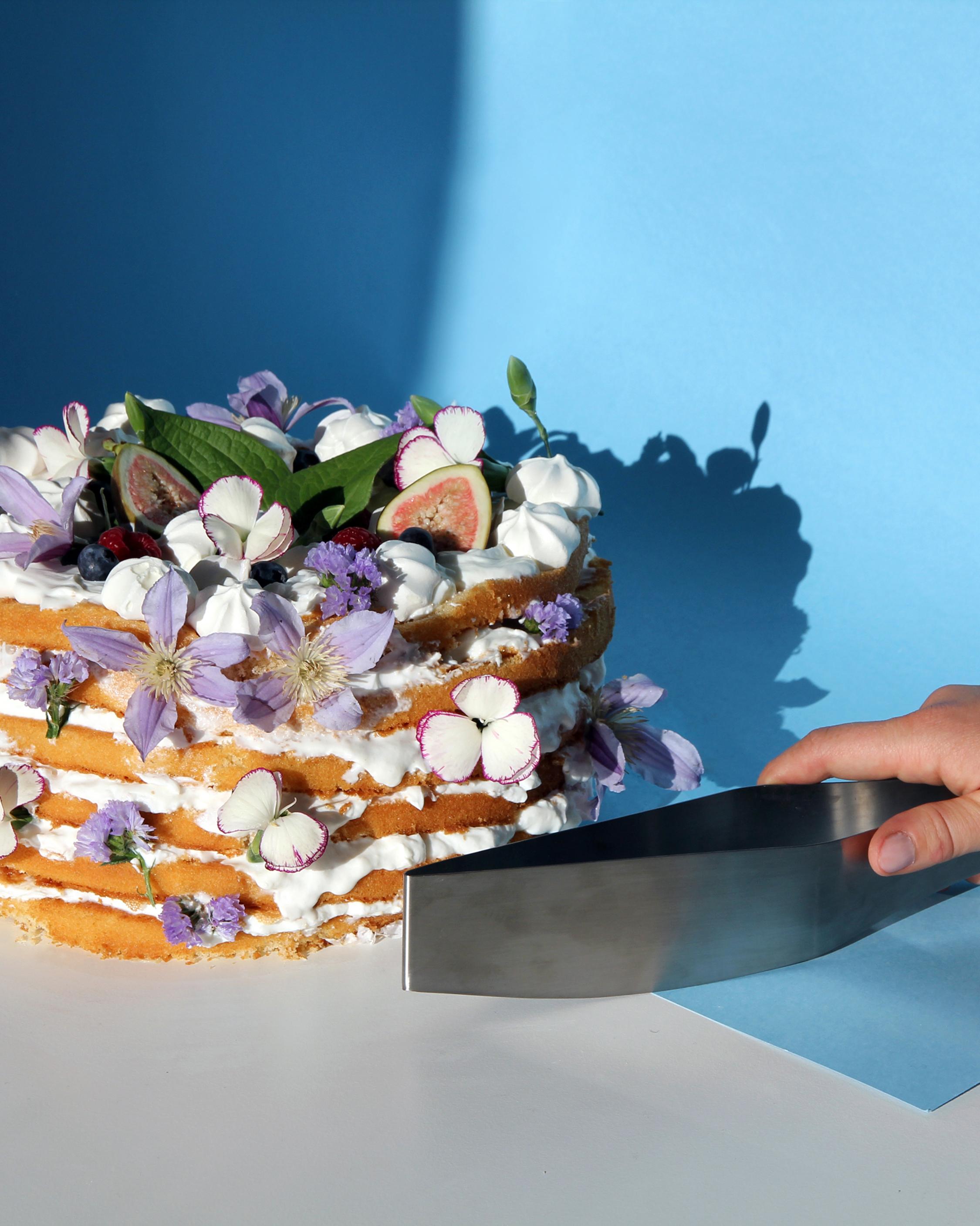 Stainless Steel Diamond Cake Server