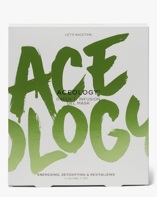 Aceology Green T. Infusion Gel Mask 4-Pack 1