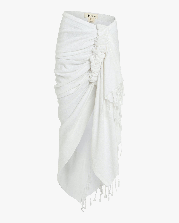 Tulum Wrap Midi Skirt
