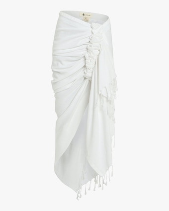 Tulum Wrap Midi Skirt