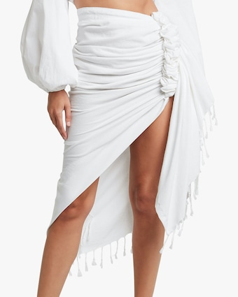 Just Bee Queen Tulum Wrap Midi Skirt 2