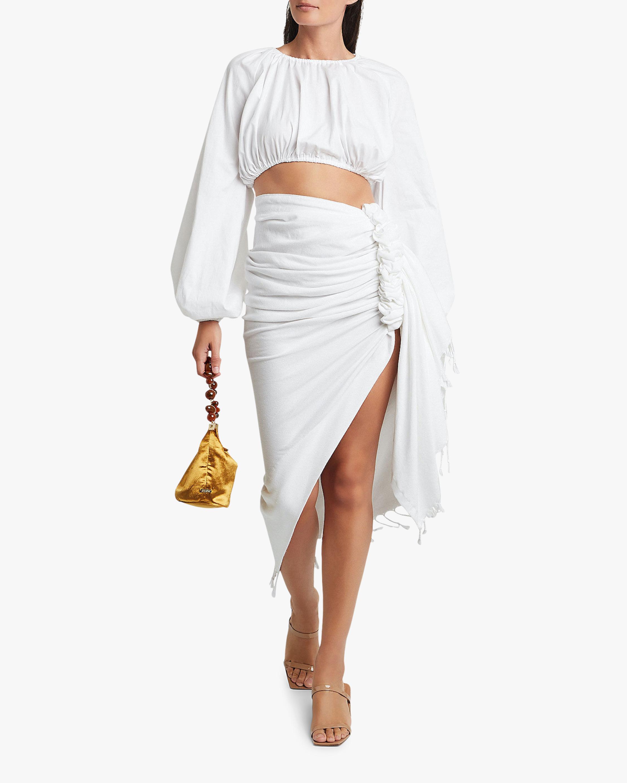 Just Bee Queen Tulum Wrap Midi Skirt 3