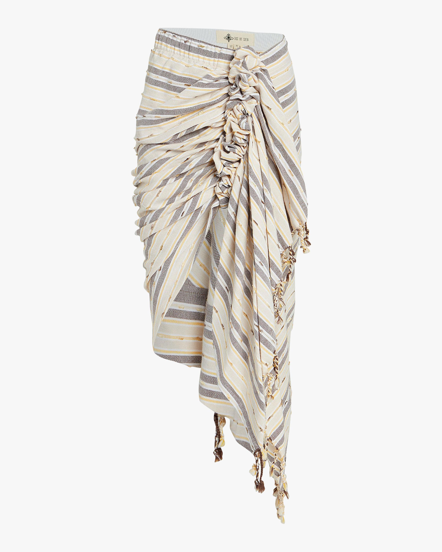 Just Bee Queen Tulum Wrap Hi-Low Skirt 0