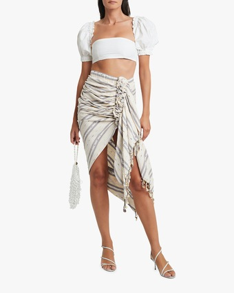 Tulum Wrap Hi-Low Skirt