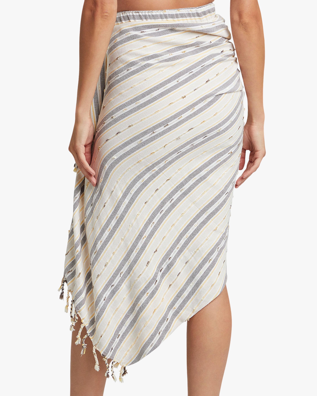 Just Bee Queen Tulum Wrap Hi-Low Skirt 2