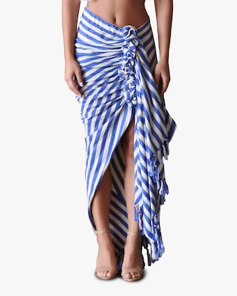 Just Bee Queen Tulum Wrap Maxi Skirt 1