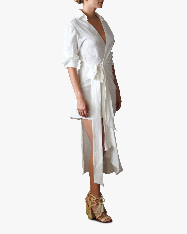 Just Bee Queen Fernanda Wrap Midi Dress 2