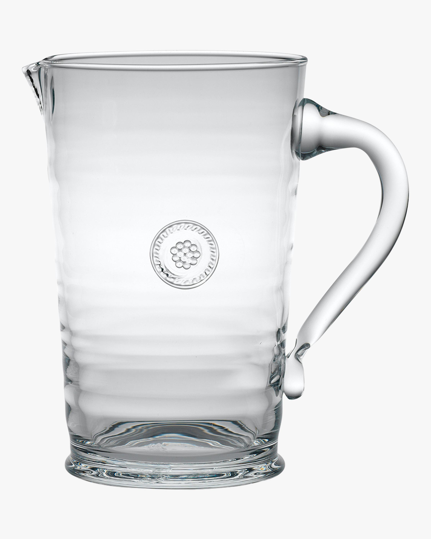Juliska Berry & Thread Glass Pitcher 0