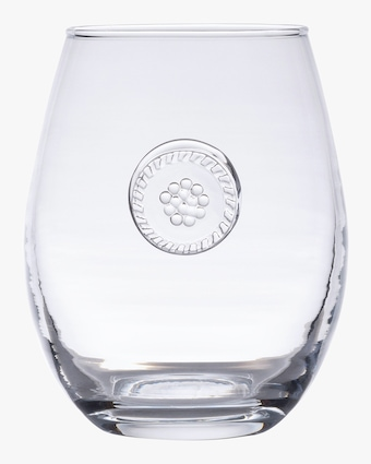 Juliska Berry & Thread Stemless White Wine Glass 2
