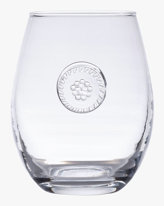 Juliska Berry & Thread Stemless White Wine Glass 0