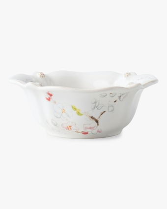Juliska Berry & Thread Floral Sketch Cherry Blossom Bowl 1
