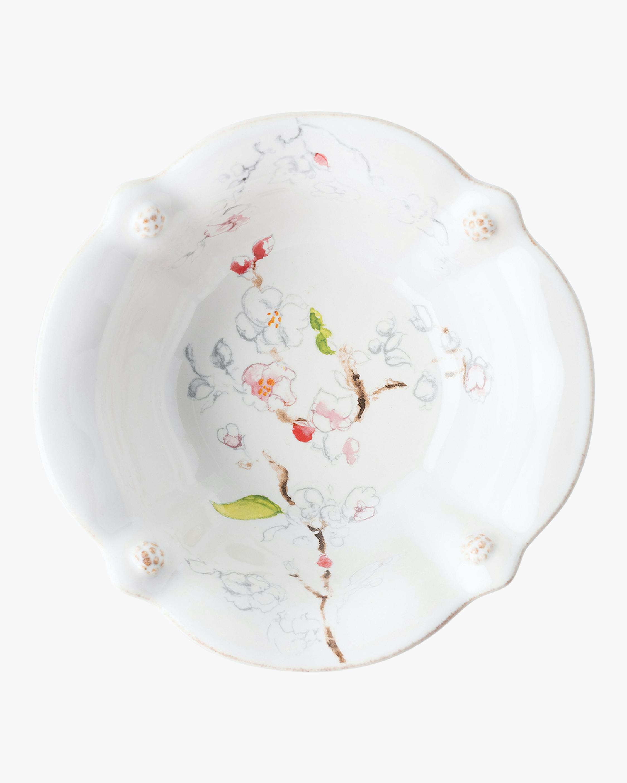 Juliska Berry & Thread Floral Sketch Cherry Blossom Bowl 2