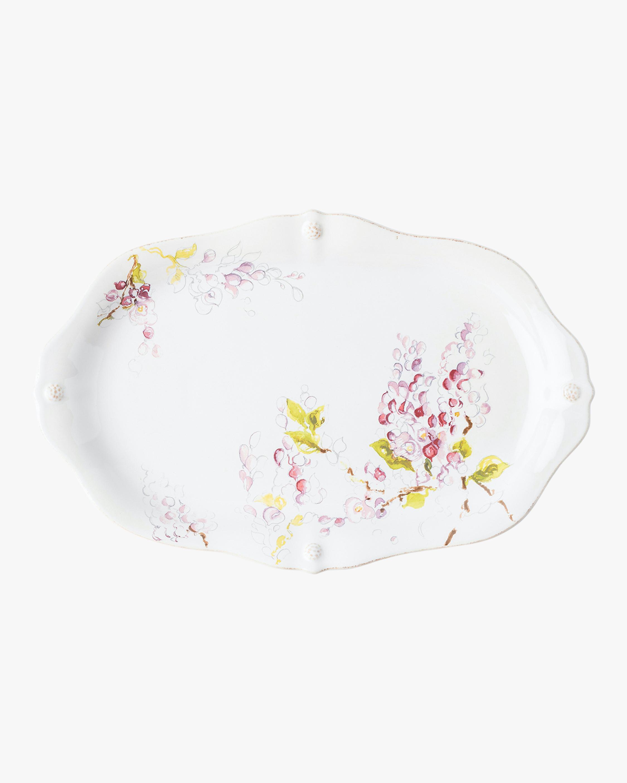 Juliska Berry & Thread Floral Sketch Wisteria Platter 1