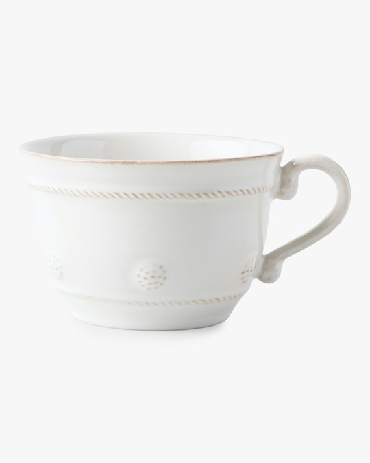 Juliska Berry & Thread Whitewash Tea Cup 0