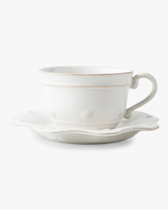 Juliska Berry & Thread Whitewash Tea Cup 1