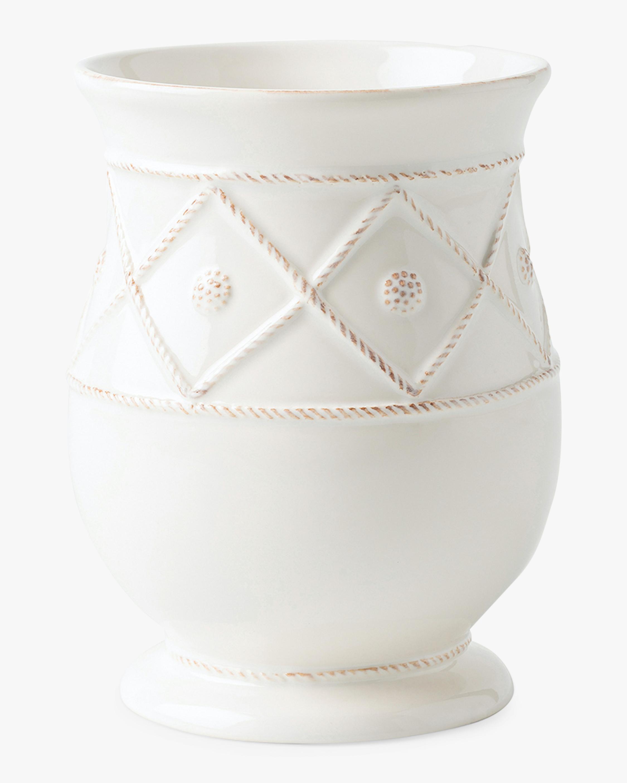 Juliska Berry & Thread Whitewash Utensil Crock 1