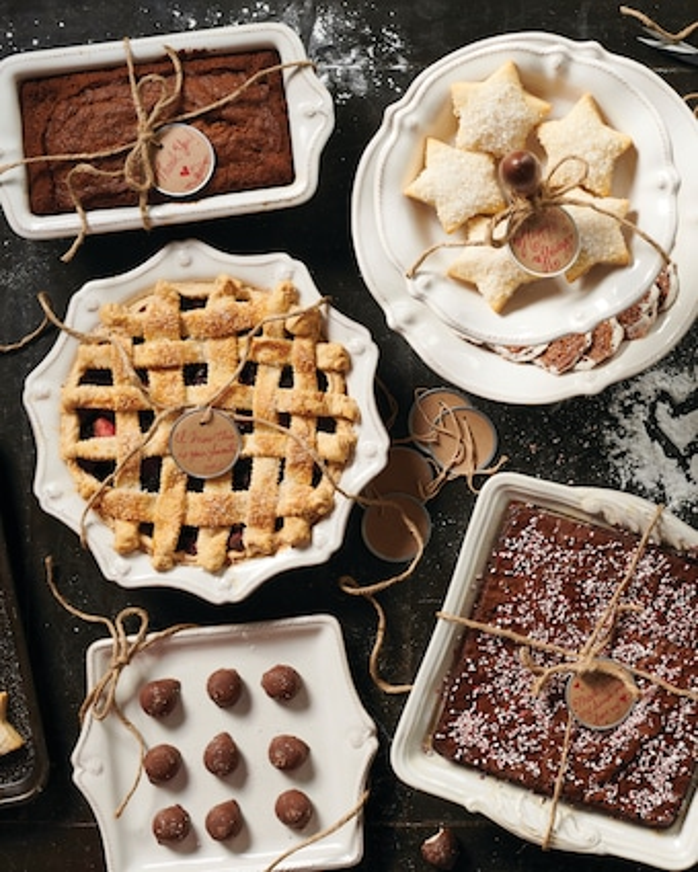 Berry & Thread Whitewash Rectangular Baker