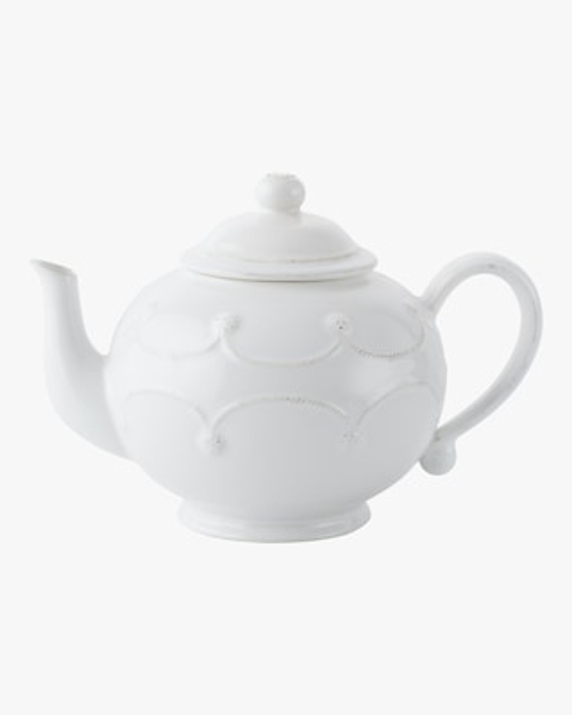 Juliska Berry & Thread Whitewash Teapot 2