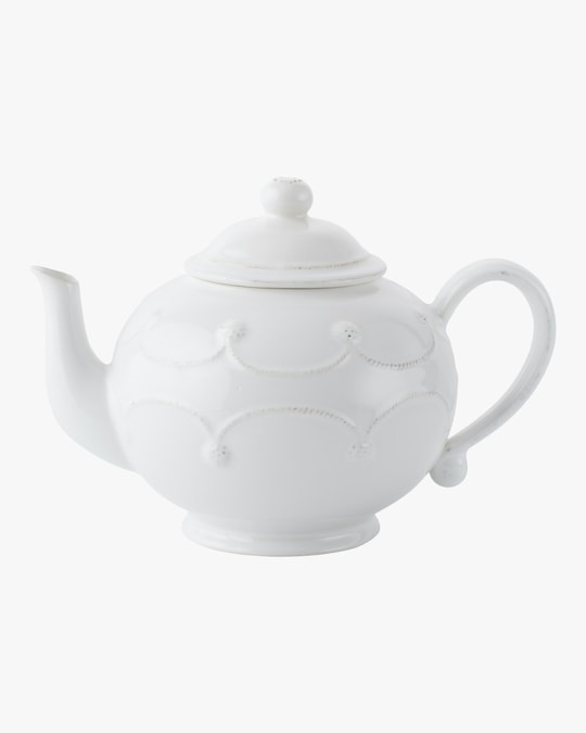Juliska Berry & Thread Whitewash Teapot 0