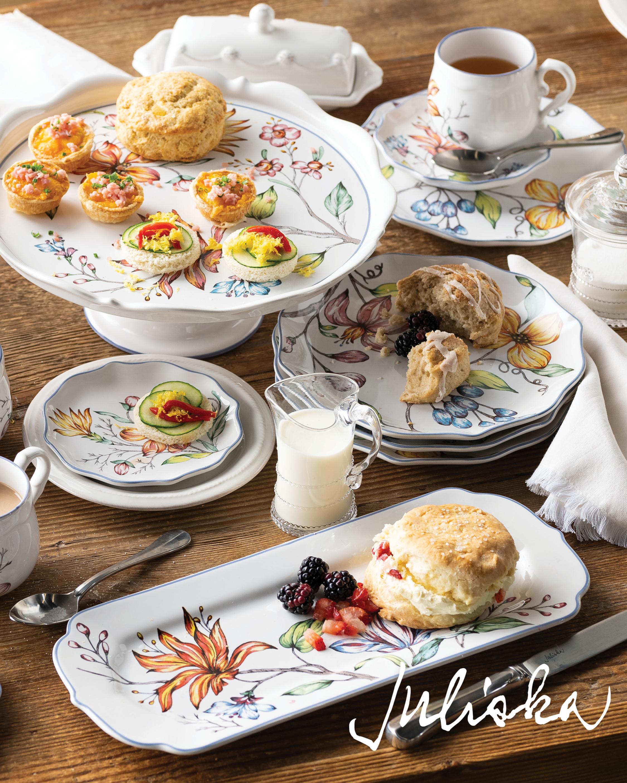 Berry & Thread Whitewash Butter Dish