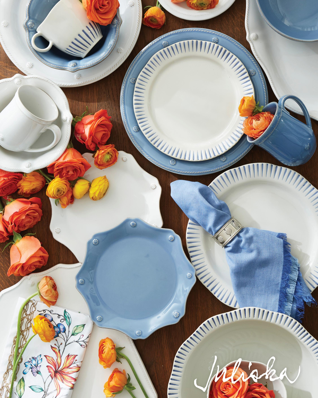 Berry & Thread Whitewash Side Plate