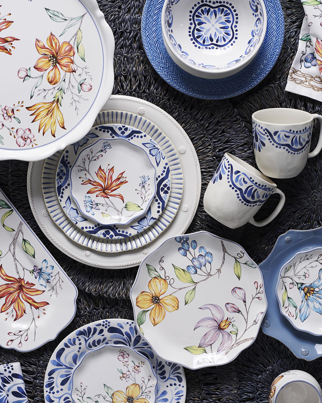 Juliska Berry & Thread Whitewash Dinner Plate 1