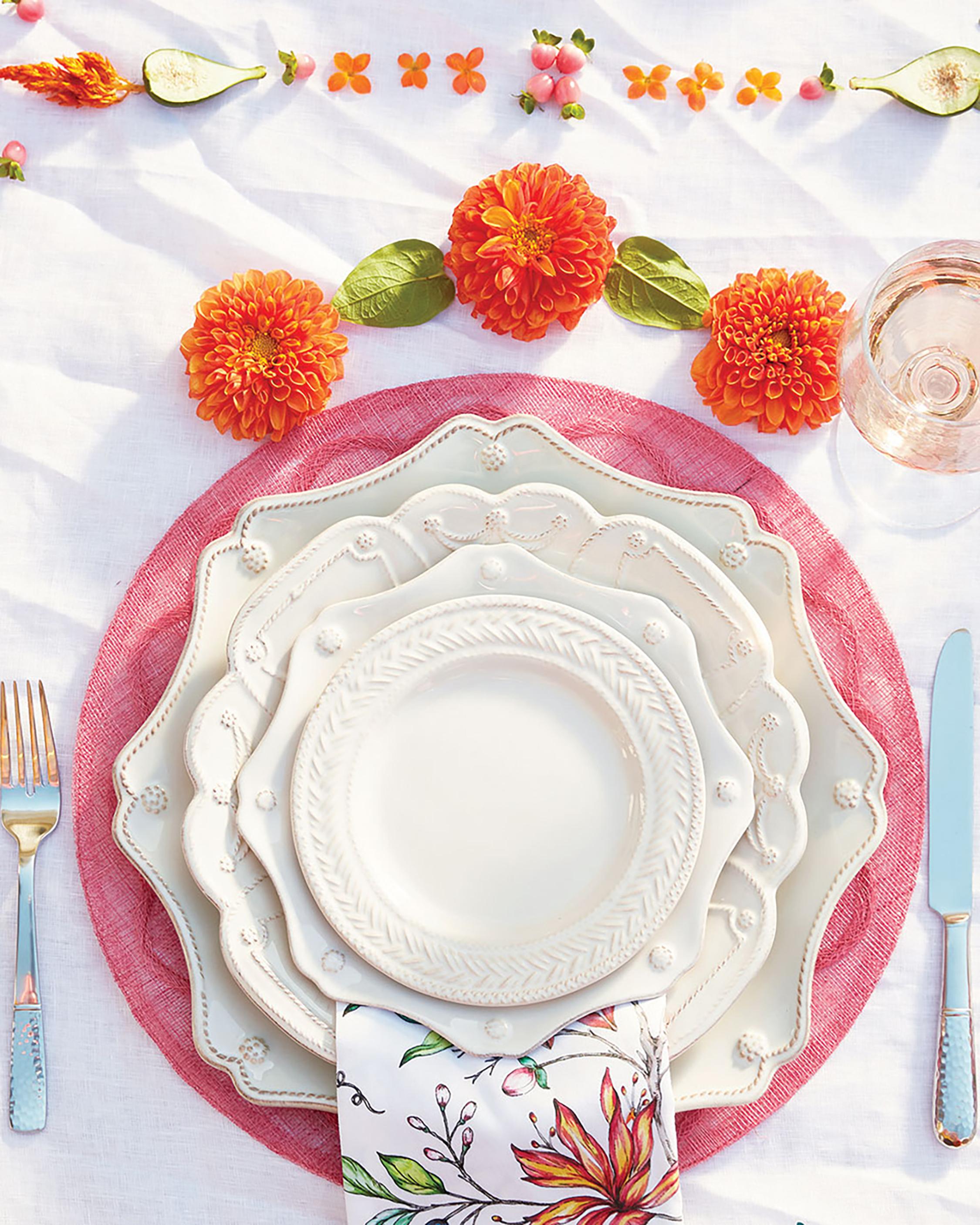 Juliska Berry & Thread Whitewash Scallop Dessert Plate 2