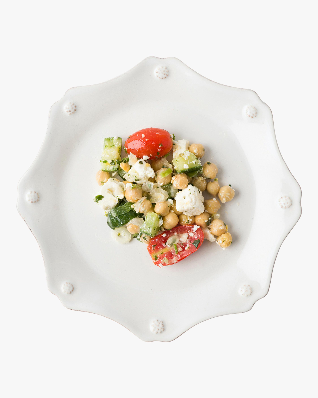 Juliska Berry & Thread Whitewash Scallop Dessert Plate 5