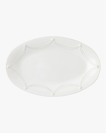 Juliska Berry & Thread Whitewash Oval Platter 1
