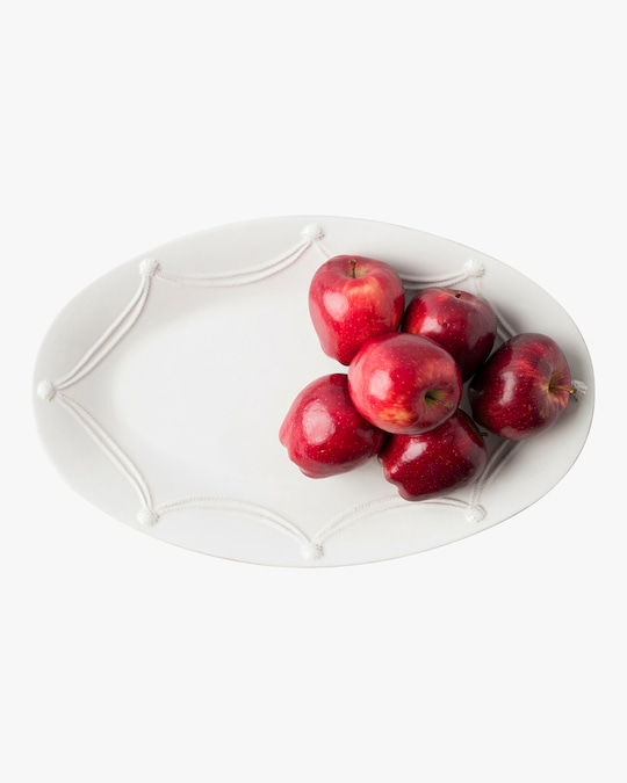 Juliska Berry & Thread Whitewash Oval Platter 1