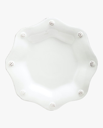 Juliska Berry & Thread Whitewash Scallop Tea Plate 1