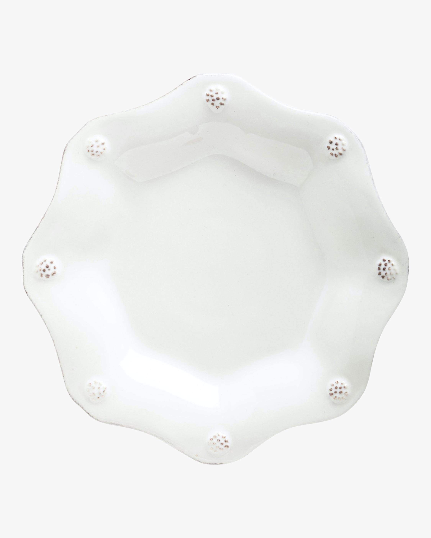 Juliska Berry & Thread Whitewash Scallop Tea Plate 0