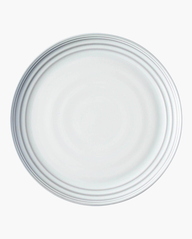 Juliska Bilbao White Truffle Dinner Plate 0