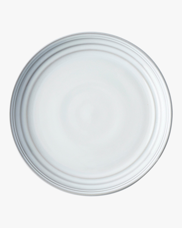 Juliska Bilbao White Truffle Dessert Plate 0