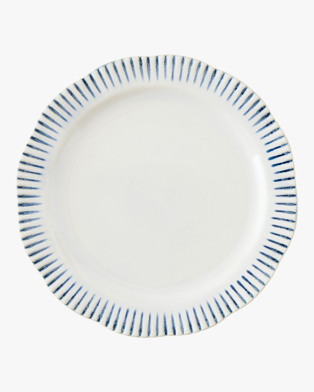 Juliska Sitio Stripe Indigo Dinner Plate 0
