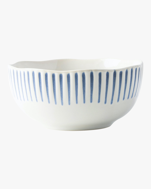 Juliska Sitio Stripe Indigo Bowl 1