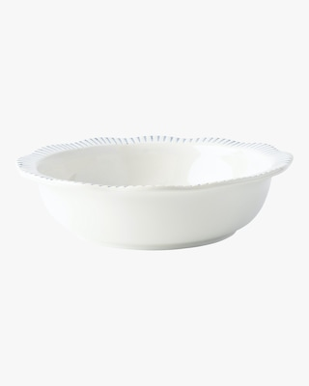 Juliska Sitio Stripe Indigo Serving Bowl 1