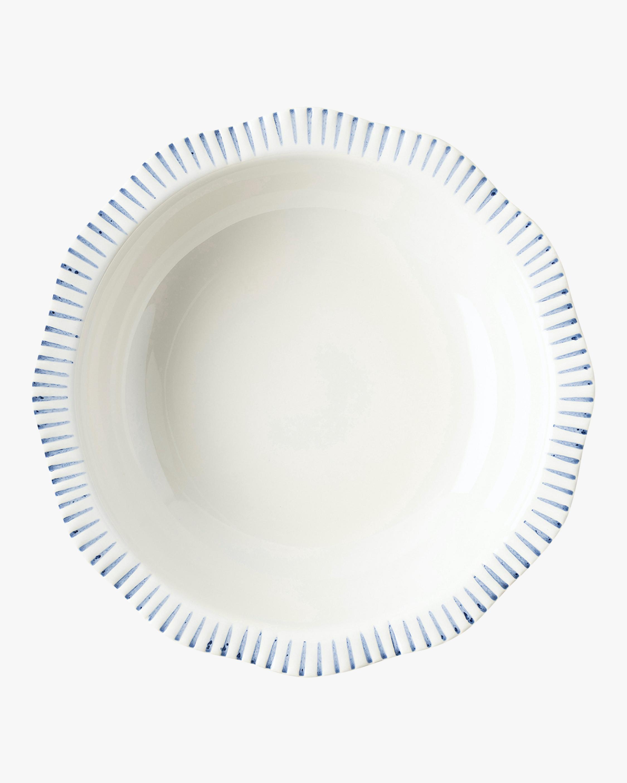 Juliska Sitio Stripe Indigo Serving Bowl 2