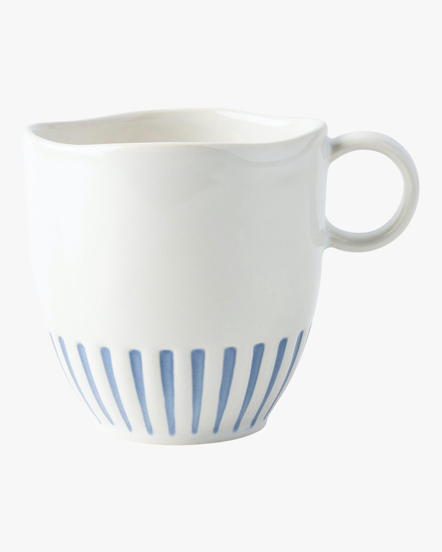 Juliska Sitio Stripe Indigo Mug 1