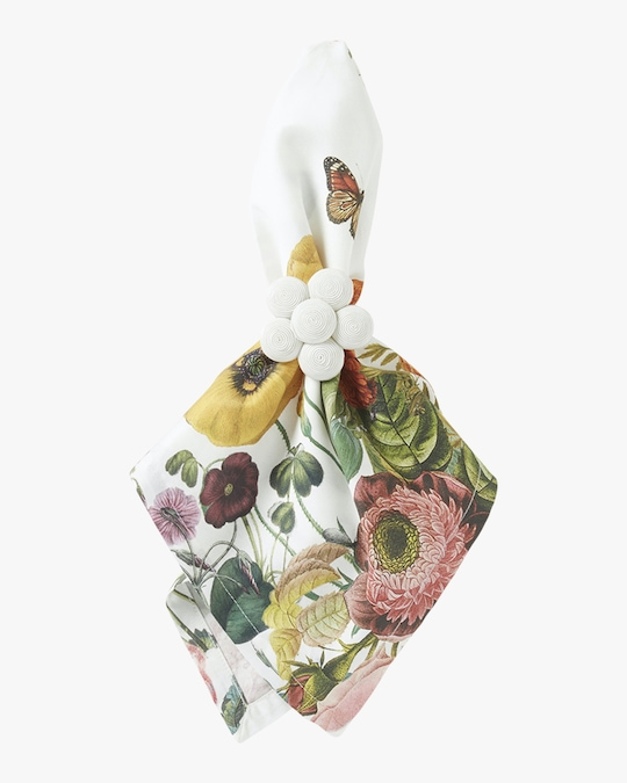 Juliska Field of Flowers White Napkin 1