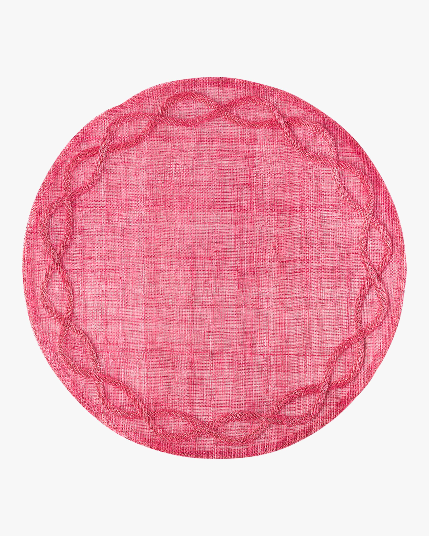 Juliska Tuileries Garden Pink Placemat 0