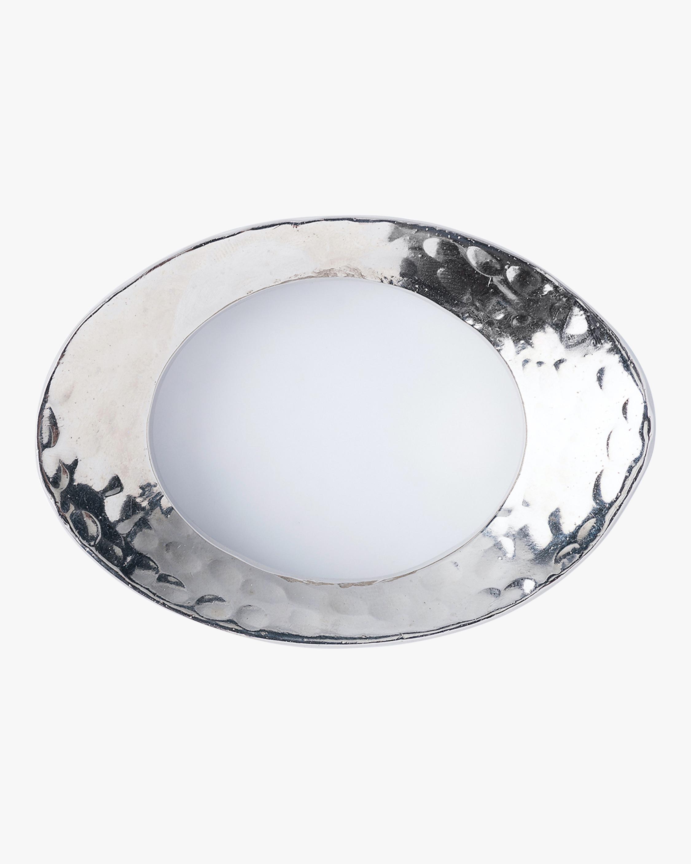 Juliska Puro Nickel Napkin Ring 0